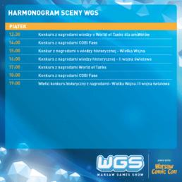 Harmonogramy sceny WGS