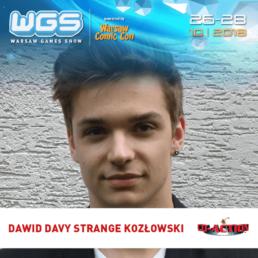 """David """"Davy Strange"""" Kozłowski"""